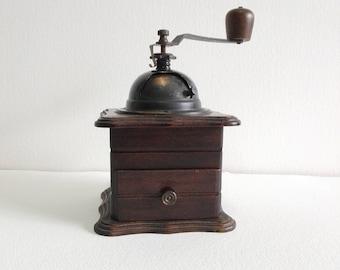 Vintage möbel weiss braun  Coffee grinder   Etsy