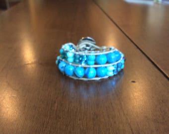 AG Double Wrap Bracelet