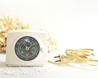 Plug In Alarm Clock Etsy