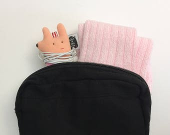 Soft Knit Earphone Case, Earphone Holder, Animal AirPods case, Earphone Organizer, Animal face Earphones holder.