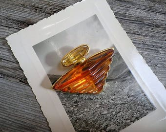 Lancôme brooch - Pin bottle perfume treasure by Lancôme - gift for her - birthday gift - Valentine's day