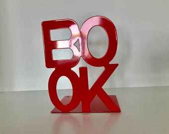 Red BOOK Bookends
