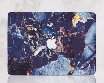 Blue Marble Macbook Case Hard Marble Macbook Air Case Marble Macbook Pro Case MacBook Air 13 Air 11 Case Marble MacBook pro 13 15 mRR_010