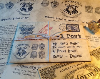 Personalized Hogwarts Acceptance Letter, Personalized Harry Potter Letter, Hogwarts Acceptance letter