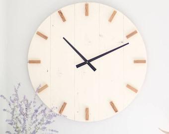 Modern clock Etsy