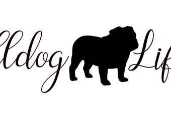 Bulldog Pride Etsy
