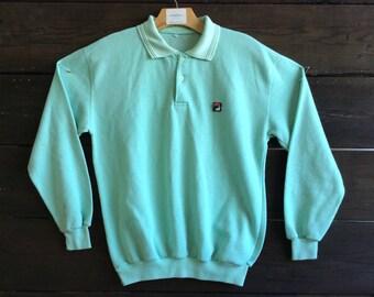 Vintage 80s Fila Sweater