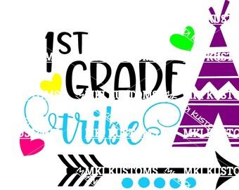 Teacher Svg/ 1st Grade Svg/ Cricut Svg/ Grade School Svg/ Classroom Svg/Cricut Cut Files Svg/ SvgCutFiles, Apple Svg/ Disney Svg/ Indian Svg