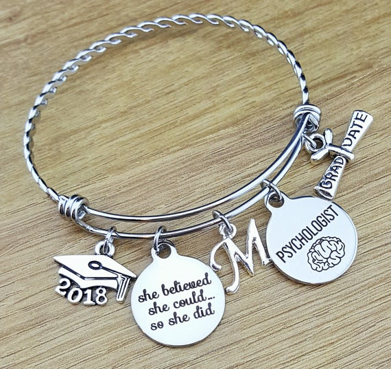 Psychologist Gift Graduation Gift for Psychologist Psychology Gifts Psychology Jewelry Graduation Gift for Her College Graduation Gift 2018