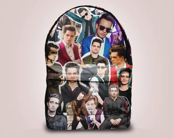 SALE! Brendon Urie, Panic! at the Disco backpack bag
