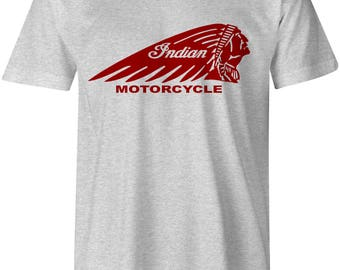Indian Motorcycle Inspired T-Shirt