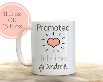Retirement gift for grandma, Full Time Grandma, Retirement Gifts for Women, Retirement mug, Retirement Coffee Mug, Retirement gift ideas
