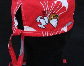 Parachuting Snoopy Scrub Hat