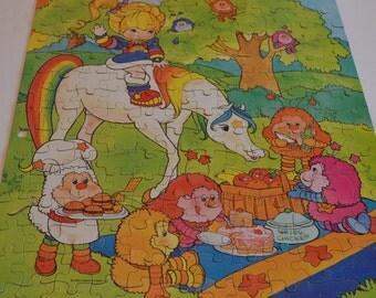 1983 Rainbow Brite 200 Piece Jigsaw Puzzle