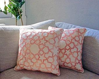 Starlight Cushion Cover - Gradient Orange
