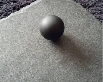 16mm Matte Black Harmony Mexican Angel Bola Charm Chime Ball Bead