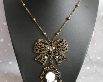 "Necklace mid-length Steampunk ""Lady"""