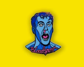 Bloodsport Enamel Pin - Jean Claude Van Damme Movie Lapel Pin