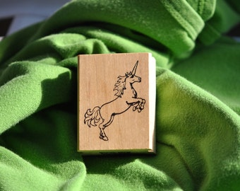 Unicorn  Rubber Stamp      Rubber Stamps Of Amierica    Vintage