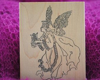 Dancing Angel  Rubber Stamp  80065  Stamps Happen, Inc.  Vintage