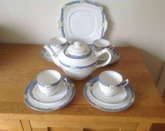 Royal Albert tea set orient 1920's