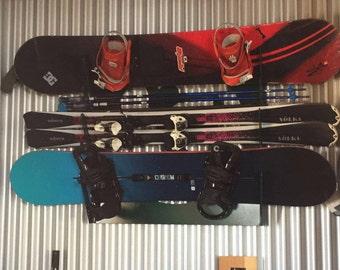 Ski / Snowboard Storage Rack