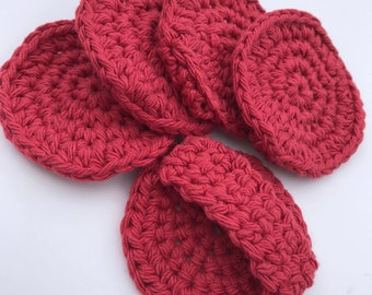 PATTERN -  Round Face Scrubby with Strap - Crochet Pattern - Cotton - Eco Friendly - Easy
