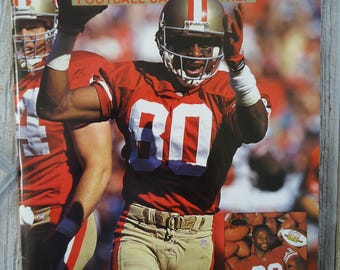 Jerry Rice 1994 Beckett - Vintage magazine - Sports gift - Jerry Rice - Jerry Rice gift - Vintage Jerry Rice - Vintage football - 49ers gift