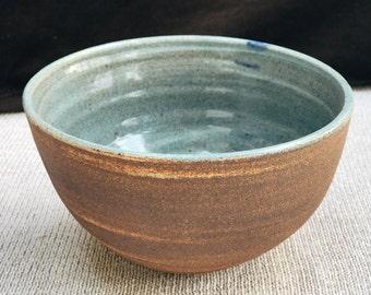 Rustic Handmade Marbled Bowl