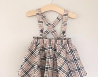 Tartan Suspender Skirt