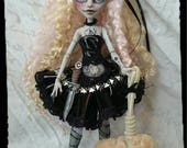 RESERVED For Isabel  2nd Payment Goldilocks G.A.W.P Inc OOAK Custom Doll and Mr.Fluffy ( Ghoulia Yelps ) Monster High Repaint