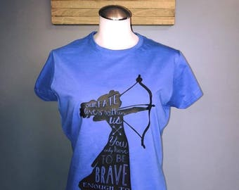 CLEARANCE  Disney Brave Merida Quote T Shirt