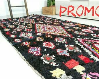 Moroccan boucherouite rug PROMO