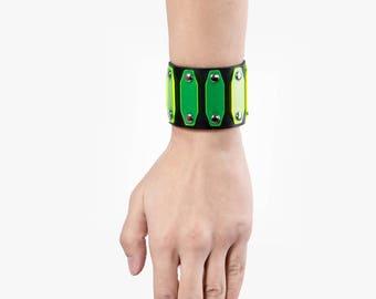 Poison Green (UV) Cuff Bracelet