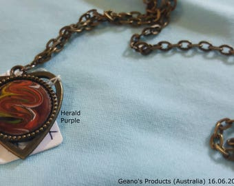 Triangular Pendant (Herald Purple)