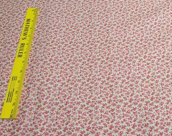 Verna Mosquera Rustic Blush-Petite Fleur-Linen-Cotton Fabric from Free Spirit Fabrics