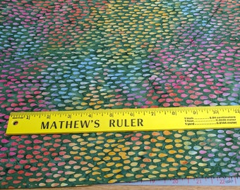 Tonga-Lush Batik Cotton Fabric from Timeless Treasures