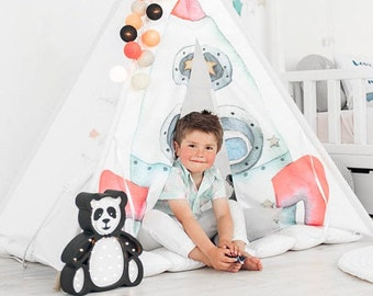 Space Rocket Kids Tepee (wigwam)