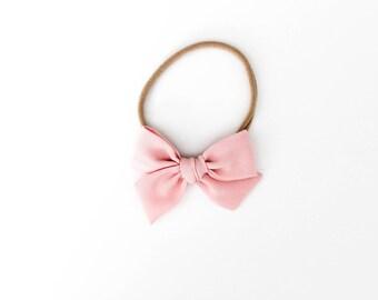Mini Pinwheel // Crepe Silk Blush