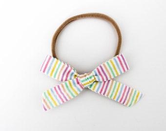 Schoolgirl // Rainbow Stripe
