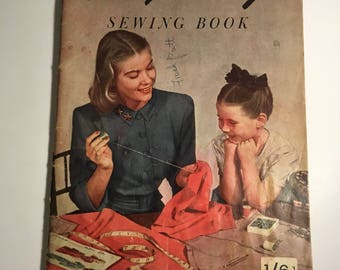Simplicity sewing book 1940's