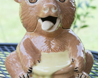 Vintage Sittre Ceramic Honey Bear
