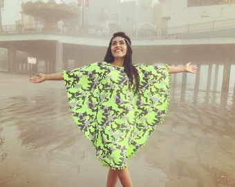 Ready to SHIP! SwimDress kaftan coverup beach dress Boho style