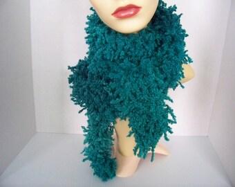 Boa or scarf (Agave (blue)) # 802