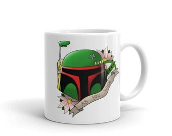 Star Wars Boba Fett Mug - As You Wish Design