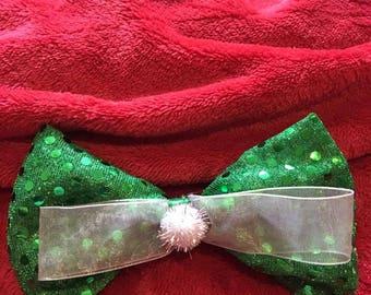 Tinkerbell Fairy Disney Inspired Hair Bow