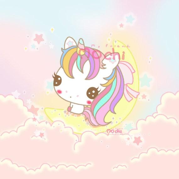 Unicorn clipart rainbow cupcake - Pencil and in color unicorn ...