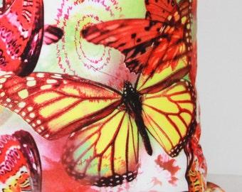 18x18 Butterfly Pillow cover, pillow, Pillow Cover, Decorative Pillow.