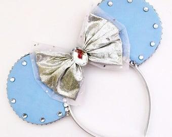The Glass Slipper - Disney Cinderella Inspired Mouse Ears Headband