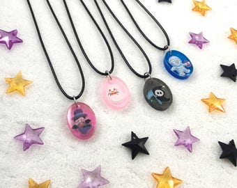 Kawaii Chibi Halloween Pendant Necklace